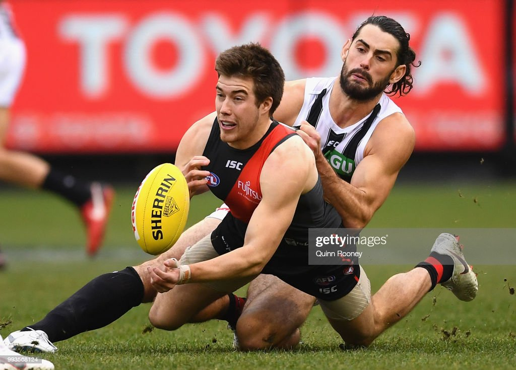 AFL Rd 16 - Essendon v Collingwood : News Photo