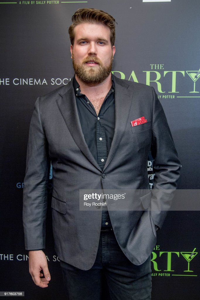 Zach Miko attends the screening of 'The Party' hosted by Roadside Attractions and Great Point Media with The Cinema Society at Metrograph on February 12, 2018 in New York City.
