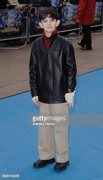 Zach Mills attends the premiere of 'Mr Magorium's Wonder Emporium' on November 25 2007 in London