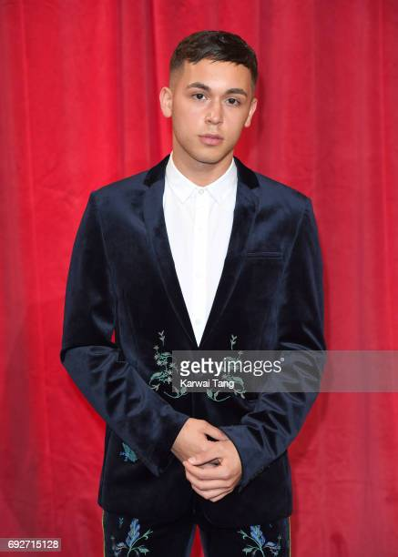 Zach Morris attends the British Soap Awards at The Lowry Theatre on June 3 2017 in Manchester England