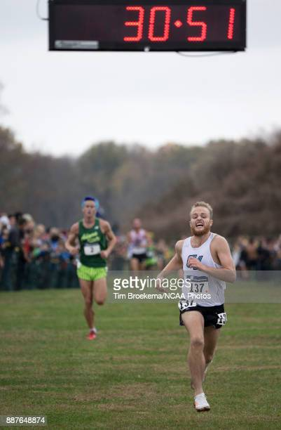 Zach Panning of Grand Valley State University placed 2nd with a time of 30528 34 seconds off of the lead Grand Valley team placed 2nd in the Division...