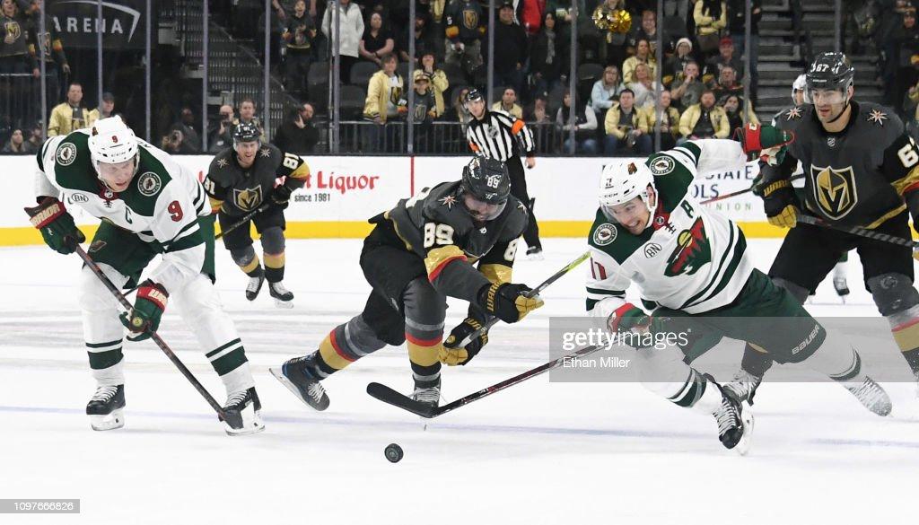 Minnesota Wild v Vegas Golden Knights : News Photo