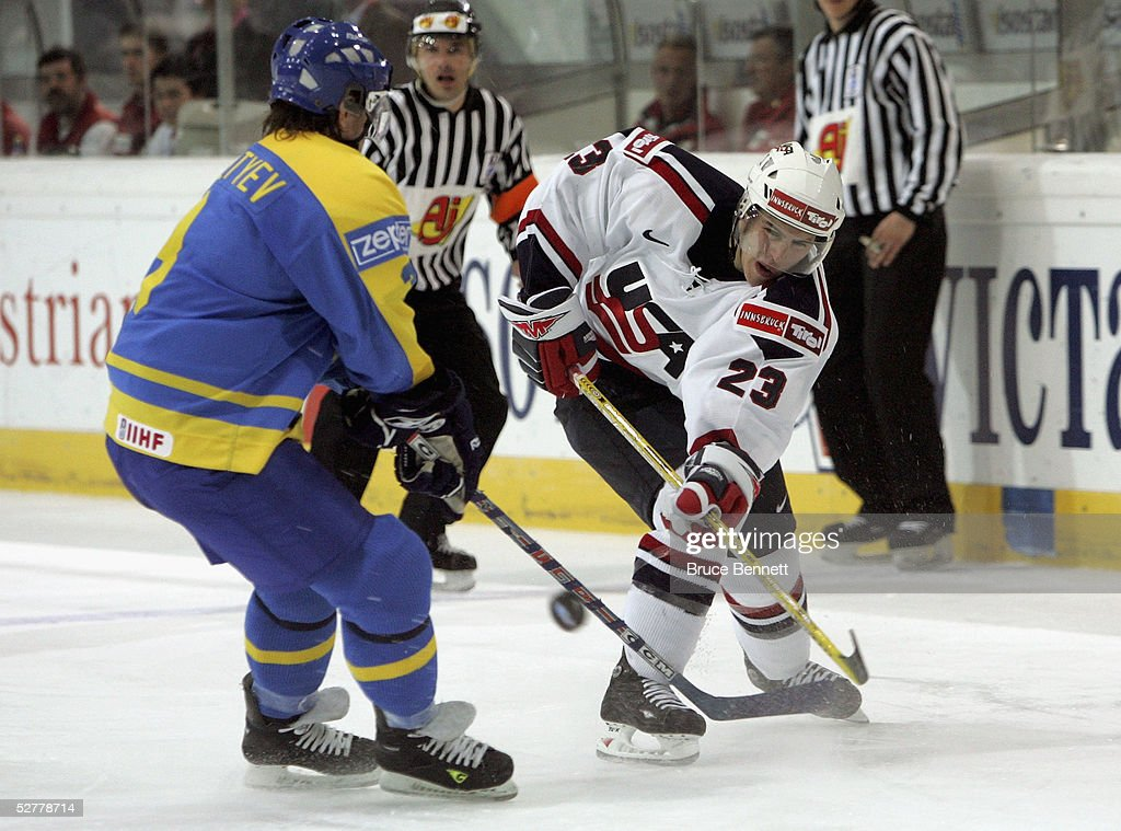 IIHF World Men's Championships: USA v Ukraine : News Photo