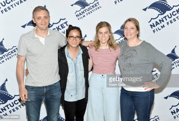 Zach Phillips Huong Nguyen Amy Haglage and Sarah Kruchowski attend the 2018 Nantucket Film Festival Day 5 on June 24 2018 in Nantucket Massachusetts
