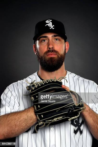 Zach Putnam of the Chicago White Sox poses on Chicago White Sox Photo Day during Spring Taining on February 23 2017 in Glendale Arizona