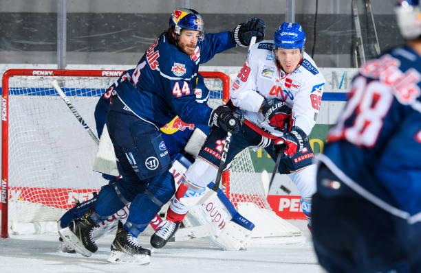 DEU: MAGENTA SPORT CUP - EHC Red Bull Muenchen v Adler Mannheim