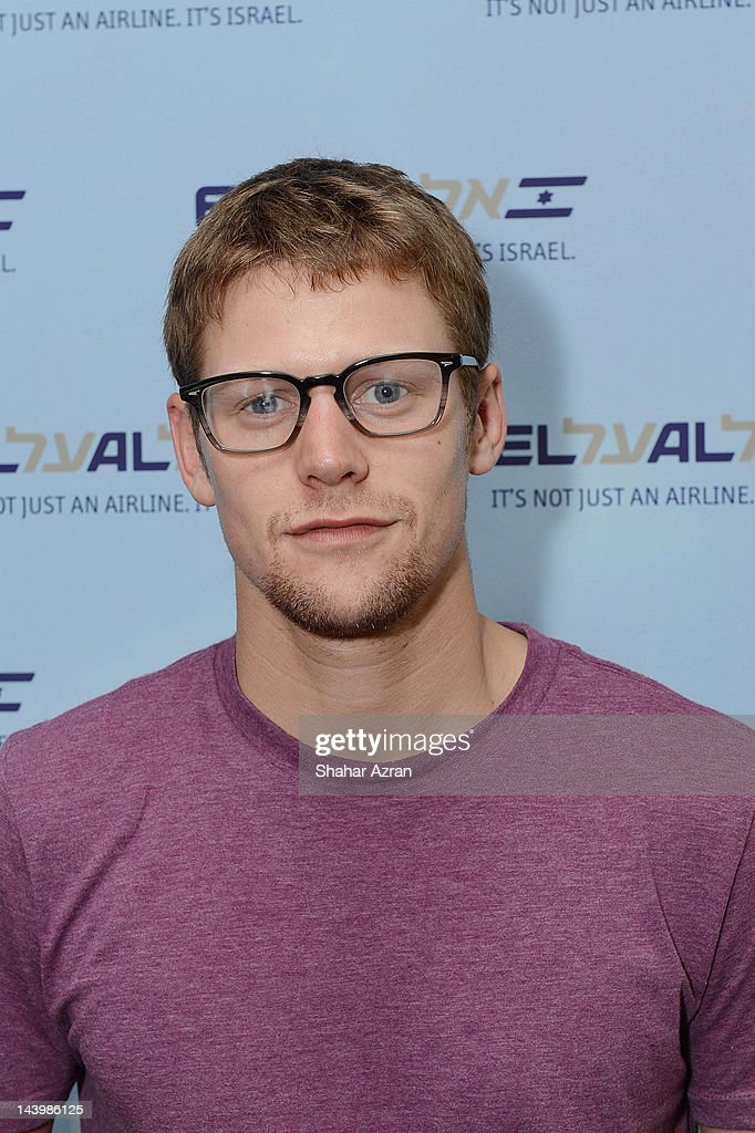 Zach Roerig seen at JFK Airport on May 6, 2012 in New York City.