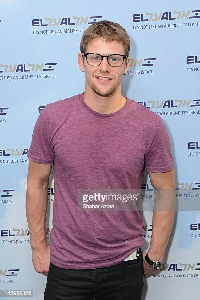 Zach Roerig seen at JFK Airport on May 6 2012 in New York City