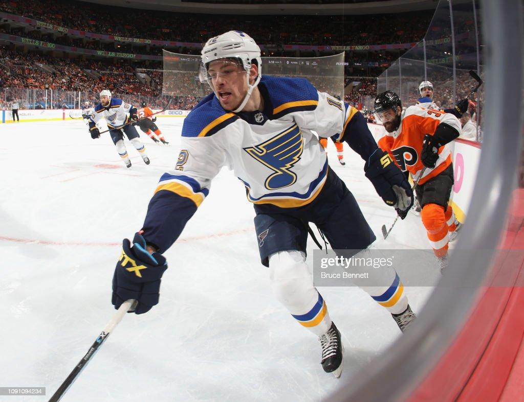 St Louis Blues v Philadelphia Flyers : News Photo
