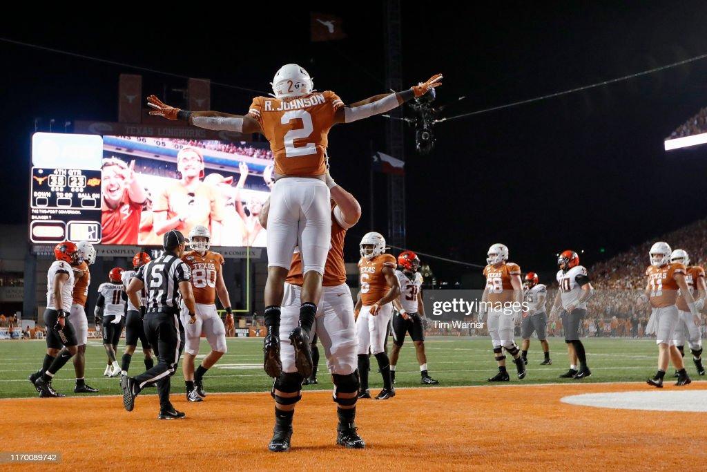 Oklahoma State v Texas : News Photo