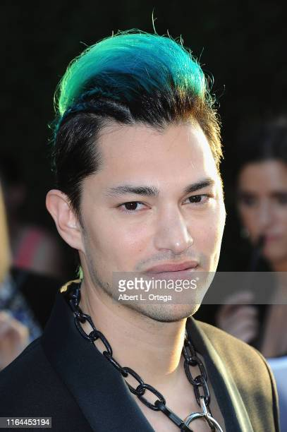 Zach Villa arrives for the Premiere Of FX's Mayans MC Season 2 held at ArcLight Cinerama Dome on August 27 2019 in Hollywood California