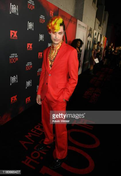 Zach Villa attends FX's American Horror Story 100th Episode Celebration at Hollywood Forever on October 26 2019 in Hollywood California