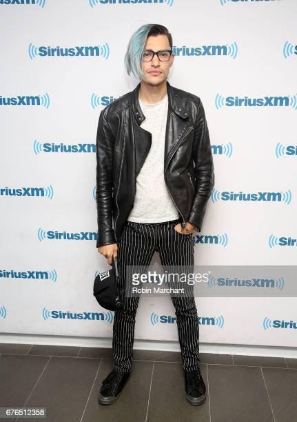 Zach Villa visits at SiriusXM Studios on May 2 2017 in New York City