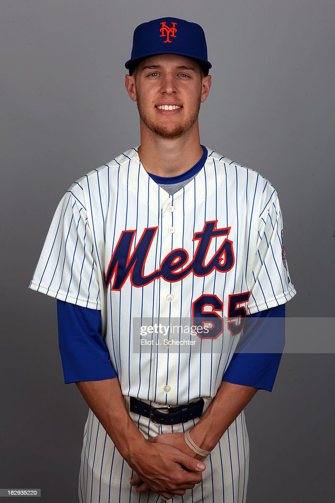 Zach Wheeler #65 of the New York Mets poses during Photo Day on February 21, 2013 at Mets Stadium in Port St. Lucie, Florida.