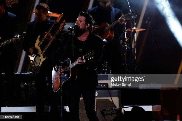 Zach Williams performs onstage at the 53rd annual CMA Awards at the Bridgestone Arena on November 13 2019 in Nashville Tennessee