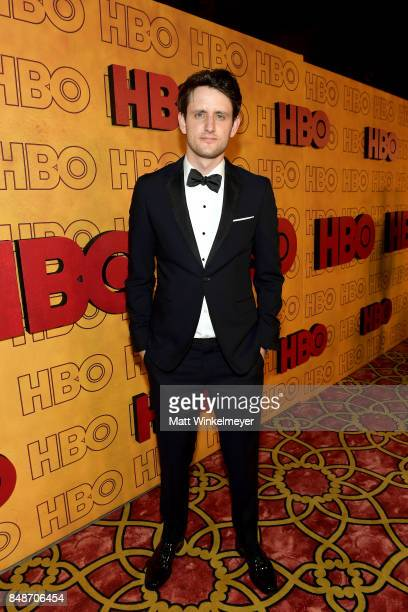 Zach Woods attends HBO's Post Emmy Awards Reception at The Plaza at the Pacific Design Center on September 17 2017 in Los Angeles California