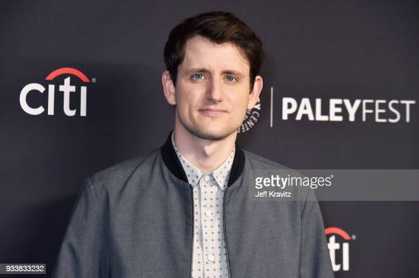 Zach Woods attends HBO's Silicon Valley Panel at PaleyFest 2018 at The Kodak Theatre on March 18 2018 in Hollywood California