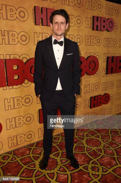 Zach Woods attends the HBO's Official 2017 Emmy After Party at The Plaza at the Pacific Design Center on September 17 2017 in Los Angeles California