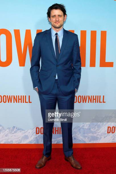 Zach Woods attends the premiere of Downhill at SVA Theater on February 12 2020 in New York City