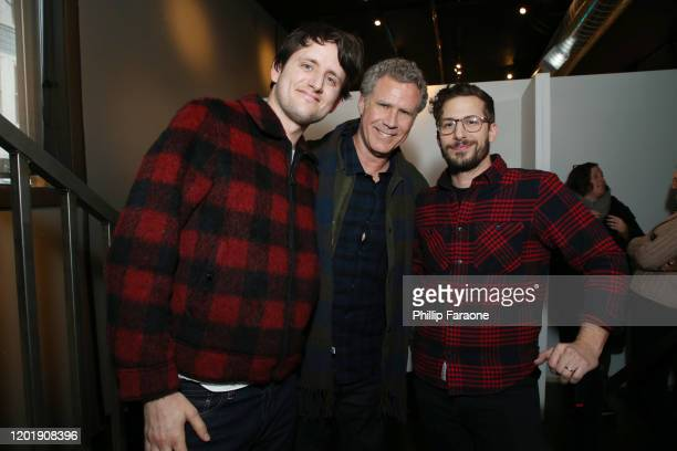 Zach Woods Will Ferrell and Andy Samberg attend The Vulture Spot presented by Amazon Fire TV 2020 at The Vulture Spot on January 25 2020 in Park City...
