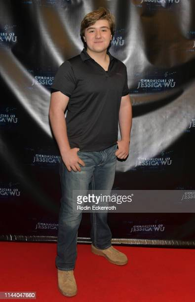 Zachary Alexander Rice attends the Chronicles of Jessica Wu Season 2 premiere at SAGAFTRA Foundation Screening Room on April 20 2019 in Los Angeles...