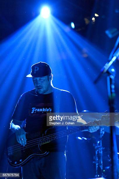Zachary Carothers of Portugal: The Man performs at KFC YUM! Center on June 3, 2016 in Louisville, Kentucky.