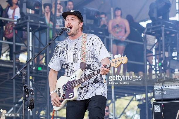 Zachary Carothers or Portugal the Man performs at Bottle Rock festival at Napa Valley Expo on May 31 2015 in Napa California