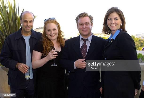 Zachary Feuer Elizabeth Caren ICM agent Shaun Redick and Lara Weiss of Raffles L'Ermitage
