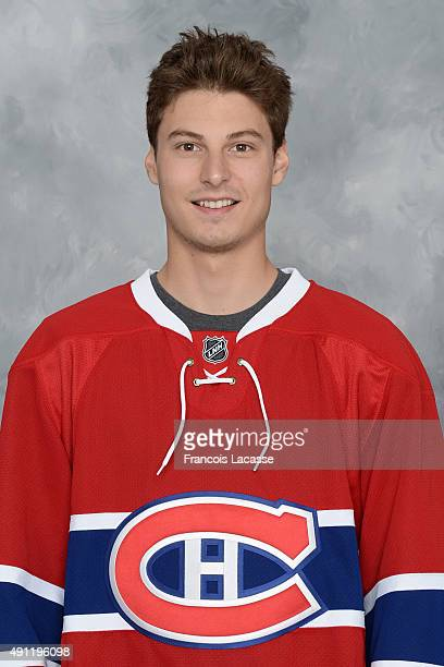 Zachary Fucale of the Montreal Canadiens poses for his official headshot for the 20152016 season on September 17 2015 at the Bell Sports Complex in...