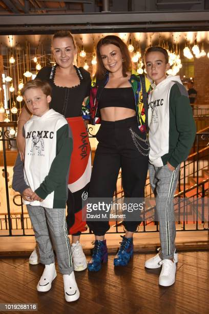 Zachary Hartmann Tessie Hartmann Tallia Storm and Johnnie Hartmann attend the Gala Screening of Alpha at Picturehouse Central on August 19 2018 in...