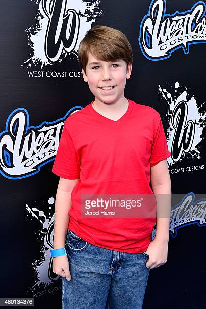 Zachary Haven attends the Grand Opening of West Coast Customs Burbank Headquarters on December 7 2014 in Burbank California