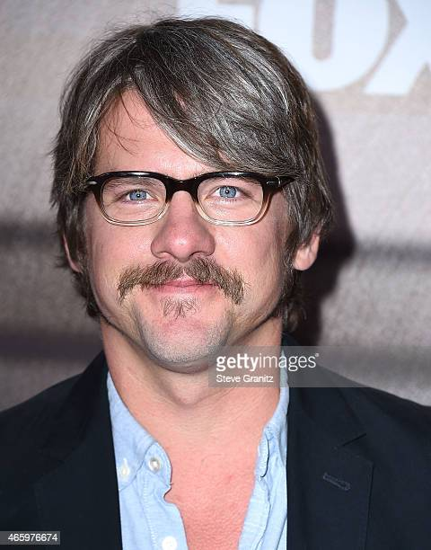 Zachary Knighton arrives at the American Idol XIV Finalist Party at The District Restaurant on March 11 2015 in Los Angeles California