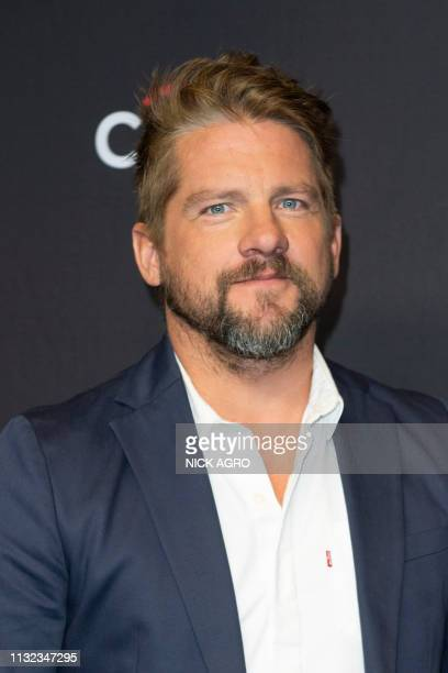 Zachary Knighton arrives for the Paley Center for Media's 2019 PaleyFest 'Hawaii Five0' 'MacGyver' And 'Magnum PI' March 23 2019 at the Dolby Theater...