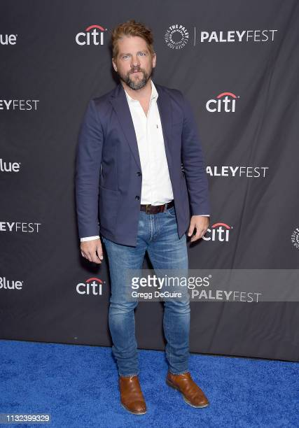Zachary Knighton attends The Paley Center For Media's 2019 PaleyFest LA Hawaii Five0 MacGyver And Magnum PI at Dolby Theatre on March 23 2019 in...