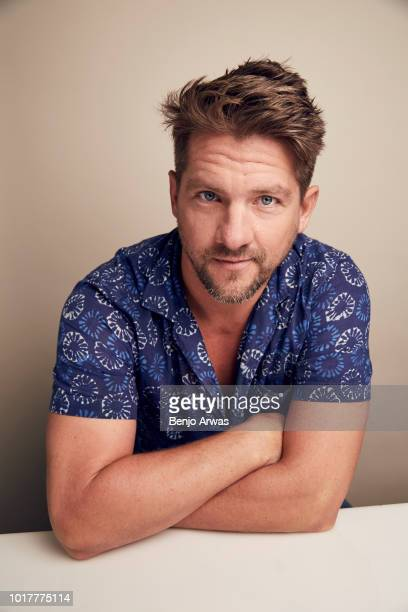 Zachary Knighton of CBS's 'Magnum PI' poses for a portrait during the 2018 Summer Television Critics Association Press Tour at The Beverly Hilton...