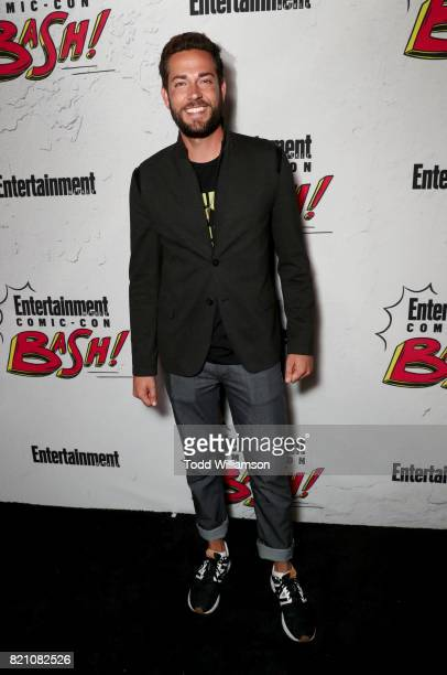 Zachary Levi at Entertainment Weekly's annual ComicCon party in celebration of ComicCon 2017 at Float at Hard Rock Hotel San Diego on July 22 2017 in...