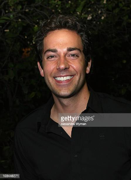 Zachary Levi at Levi's & Ace Hotel's Backyard BBQ held at a Private Residence on August 20, 2009 in Los Angeles, California.