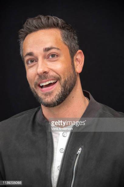 Zachary Levi at the Shazam Press Conference at The London Hotel on March 28 2019 in West Hollywood California