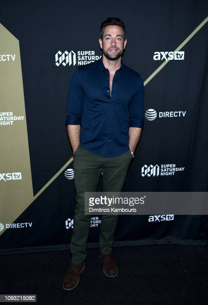 Zachary Levi attends DIRECTV Super Saturday Night 2019 at Atlantic Station on February 2 2019 in Atlanta Georgia