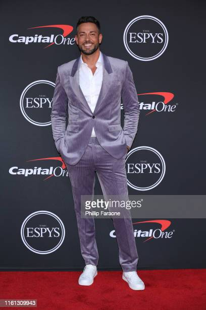 Zachary Levi attends The 2019 ESPYs at Microsoft Theater on July 10 2019 in Los Angeles California