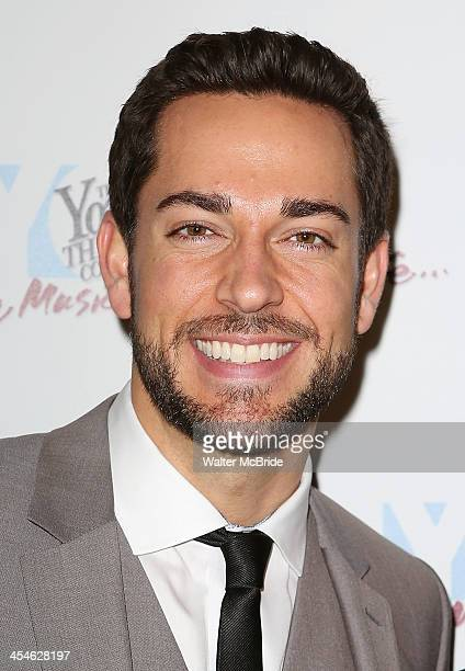 Zachary Levi attends the 22nd annual Oscar Hammerstein Award gala at The Hudson Theatre on December 9 2013 in New York City