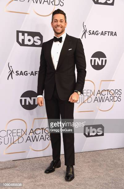 Zachary Levi attends the 25th Annual Screen Actors Guild Awards at The Shrine Auditorium on January 27 2019 in Los Angeles California 480645