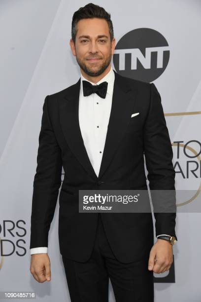 Zachary Levi attends the 25th Annual Screen ActorsGuild Awards at The Shrine Auditorium on January 27 2019 in Los Angeles California 480568