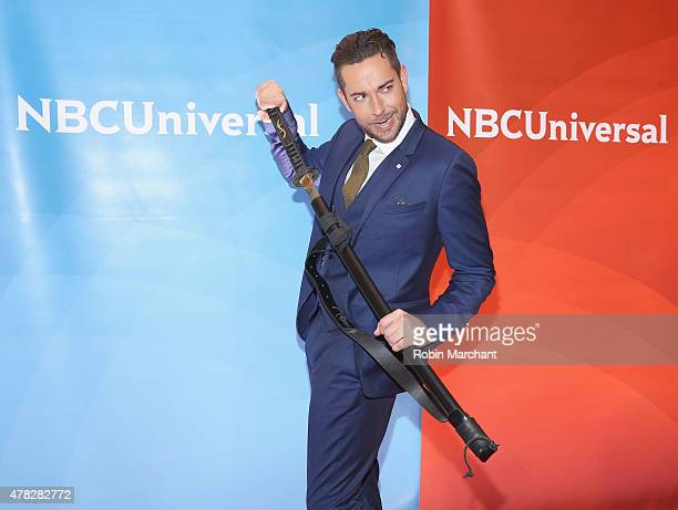 Zachary Levi attends the NBC's 2015 New York Summer Press Day at Four Seasons Hotel New York on June 24 2015 in New York City
