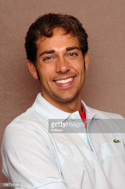 Zachary Levi during The Lucky/Cargo Club An Upfront Week Hospitality Suite Portrait Studio Day 2 at Le Parker Meridien in New York City New York...