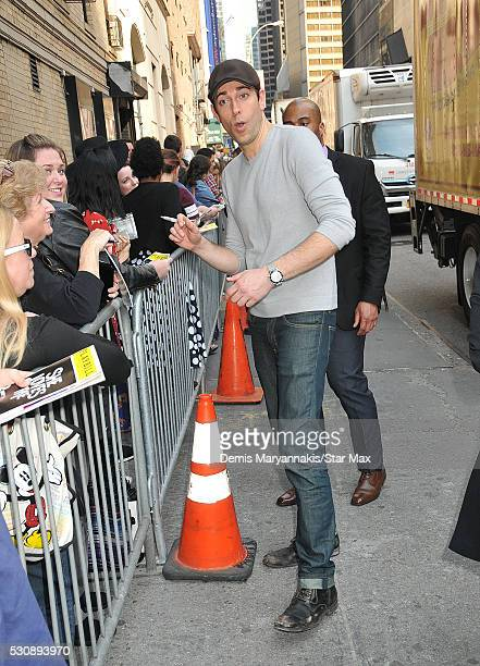 Zachary Levi is seen on May 11 2016 in New York City