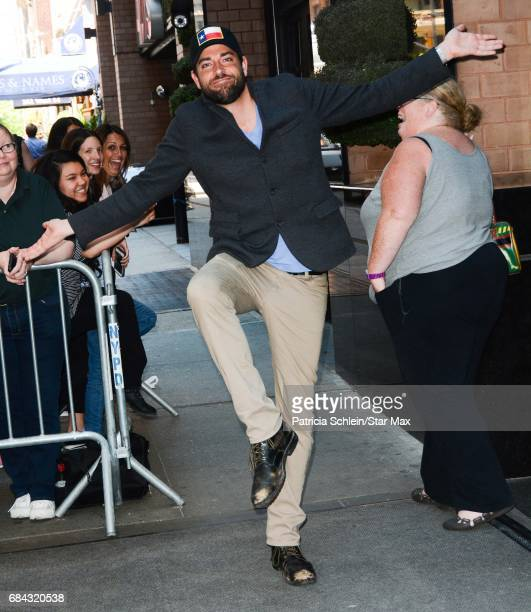 Zachary Levi is seen on May 17 2017 in New York City