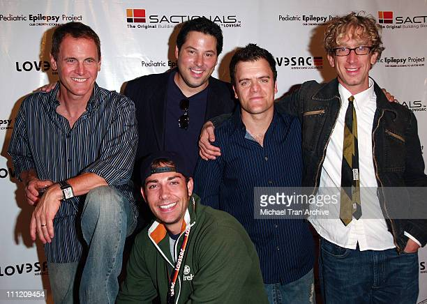 Zachary Levi Mark Moses Greg Grunberg Kevin Weisman and Andy Dick