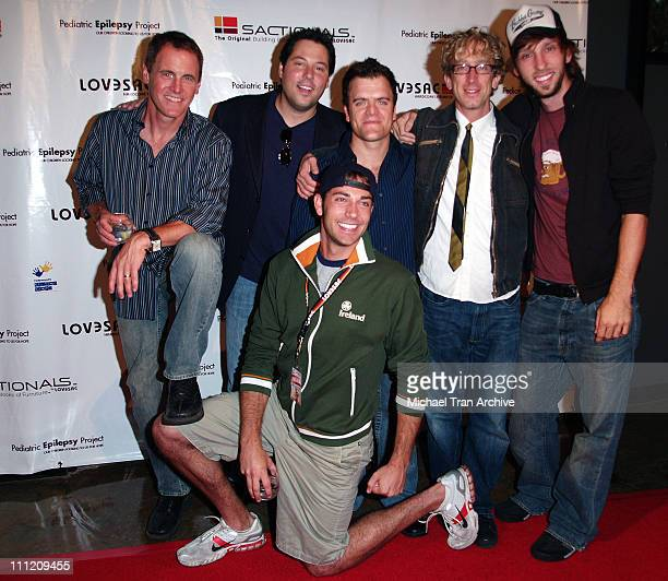 Zachary Levi Mark Moses Greg Grunberg Kevin Weisman Andy Dick and Joel Moore