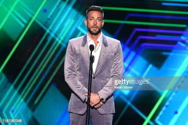 Zachary Levi speaks onstage during The 2019 ESPYs at Microsoft Theater on July 10 2019 in Los Angeles California